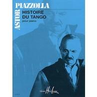 PIAZZOLLA A. HISTOIRE DU TANGO PIANO