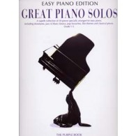 GREAT PIANO SOLOS EASY PIANO PURPLE EDITION