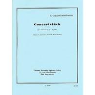 GALLOIS -MONTBRUN R. CONCERTSTUCK CLARINETTE SIB