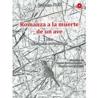 FINZI G. ROMANZA A LA MUERTE DE UN AVE CLARINETTE