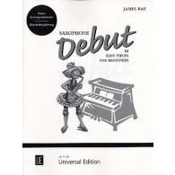 RAE J. SAXOPHONE DEBUT PIANO ACCOMPAGNEMENT
