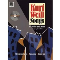 WEILL K. SONGS VIOLON