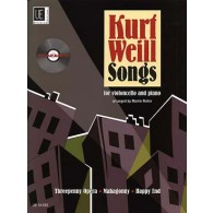 WEILL K. SONGS VIOLONCELLE