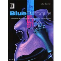 CORNICK M. BLUE BAROQUE VIOLON