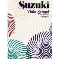 SUZUKI VIOLA SCHOOL VOL 4