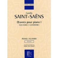 SAINT-SAENS C. OEUVRES POUR PIANO VOL 1