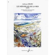 GIRARD A. LES MERVEILLES DE LA MER PIANO