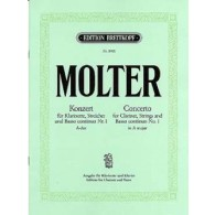 MOLTER J.M. CONCERTO N°1 CLARINETTE