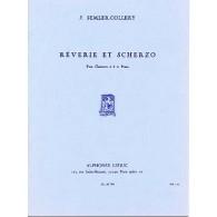 SEMLER-COLLERY J. REVERIE ET SCHERZO CLARINETTE