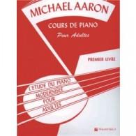 AARON M. METHODE ADULTE VOL 1 PIANO