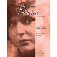 TAILLEFERRE G. ARABESQUE CLARINETTE