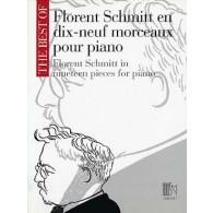 SCHMITT F. EN 19 MORCEAUX PIANO