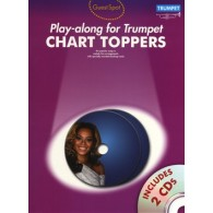 GUEST SPOT CHART TOPPERS PLAY-ALONG FOR TRUMPET