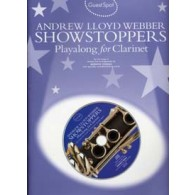 GUEST SPOT A.L. WEBBER SHOWSTOPPERS PLAY-ALONG FOR CLARINET
