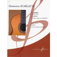 SCARLATTI D. 4 SONATES GUITARE