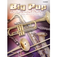 BIG POP INSTRUMENTAL SOLOS CLARINET
