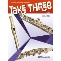 NIJS J. TAKE THREE FLUTES