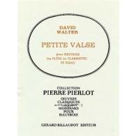 WALTER D. PETITE VALSE HAUTBOIS OU FLUTE OU CLARINETTE