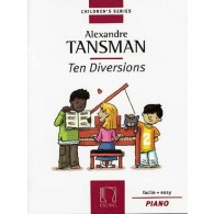 TANSMAN A. TEN DIVERSIONS PIANO