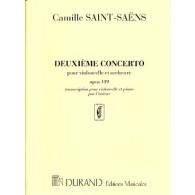 SAINT-SAENS C. 2ME CONCERTO RE MINEUR VIOLONCELLE