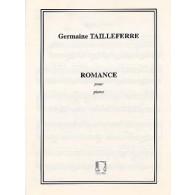 TAILLEFERRE G. ROMANCE PIANO