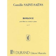 SAINT-SAENS C. ROMANCE OP 37 FLUTE