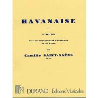 SAINT-SAENS C. HAVANAISE VIOLON
