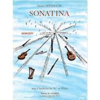 DONDEYNE D. SONATINA CLARINETTE BASSE