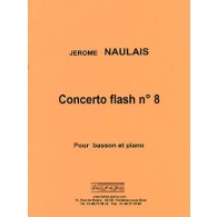 NAULAIS J. CONCERTO FLASH N°8 BASSON