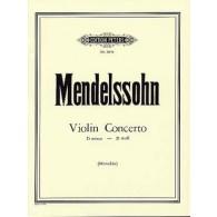 MENDELSSOHN F. CONCERTO D MINOR VIOLON