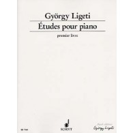 LIGETI G. ETUDES VOL 1 PIANO