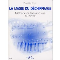 LE CORRE P. LA MAGIE DU DECHIFFRAGE PIANO