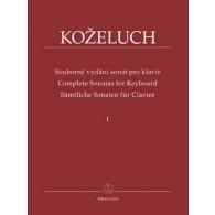 KOZELUH L. SONATES COMPLETE VOL 1 PIANO
