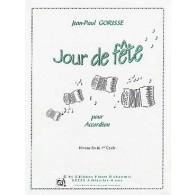 GORISSE J.P. UN JOUR DE FETE ACCORDEON