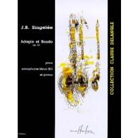 SINGELEE J.B. ADAGIO ET RONDO OP 63 SAXO SIB