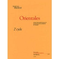 PROUST P. ORIENTALES TROMPETTE