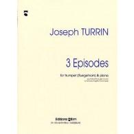 TURRIN J. 3 EPISODES TROMPETTE