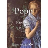 POPP W. SONATINES OP 388 VOL 2 FLUTE