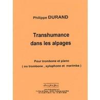DURAND P. TRANSHUMANCE DANS LES ALPAGES TROMBONE