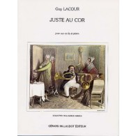LACOUR G. JUSTE AU COR  COR