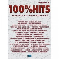 100% HITS VOLUME 3 PIANO CHANT GUITARE