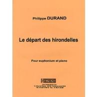 DURAND P. LE DEPART DES HIRONDELLES TUBA