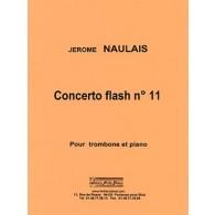 NAULAIS J. CONCERTO FLASH N°11 TROMBONE