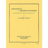 SEMLER-COLLERY J. BARCAROLLE ET CHANSON BACHIQUE TUBA