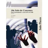 PORRET J. 10ME SOLO DE CONCOURS SAXHORN ALTO
