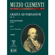 CLEMENTI M. GRADUS AD PARNASSUM VOL 1 PIANO