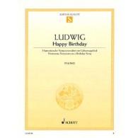 LUDWIG C.D. HAPPY BIRTHDAY PIANO