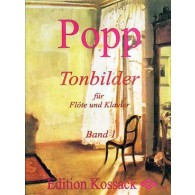 POPP W. TONBILDER VOL 1 FLUTE