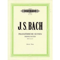 BACH J.S. SUITES FRANCAISES PIANO