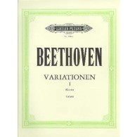 BEETHOVEN L.V. VARIATIONS VOL 1 PIANO